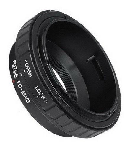 Adaptador Lente Canon Fd Em Câmeras M43 - Fotga