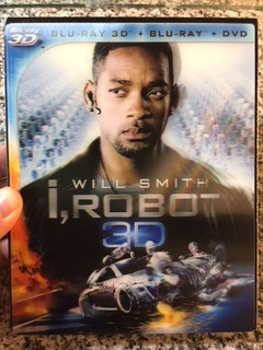 I,robot : Blu Ray 3d + 2d+dvd - Cover Lenticular Edition