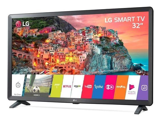 Smart Tv Lg 32 Led Preta Wi-fi/3x Hdmi/2x Usb 32lk615bpsb