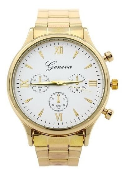 Reloj Para Mujer 2019 Análogo Woma Dorado