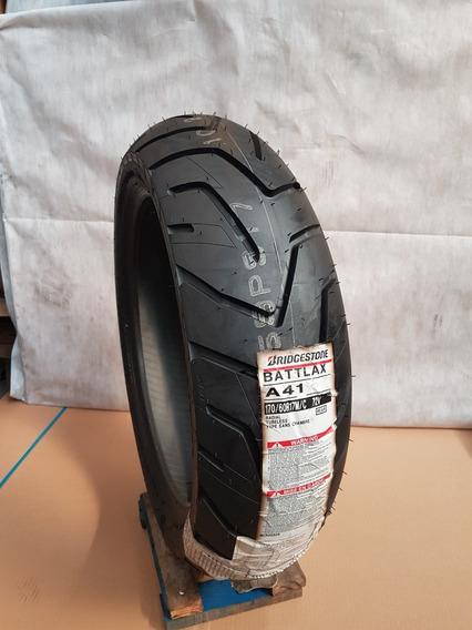 Pneu 170/60-17 A41 Bridgestone - Bmw Gs1200 Alta Kilometra