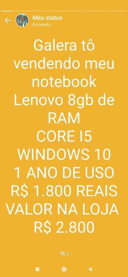 Notebook Lenovo Core I5 8 Gb De Ram