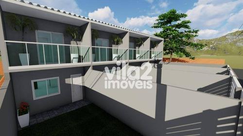 Imagem 1 de 12 de Casa Em Cordeirinho, 2 Suítes - Ca0268