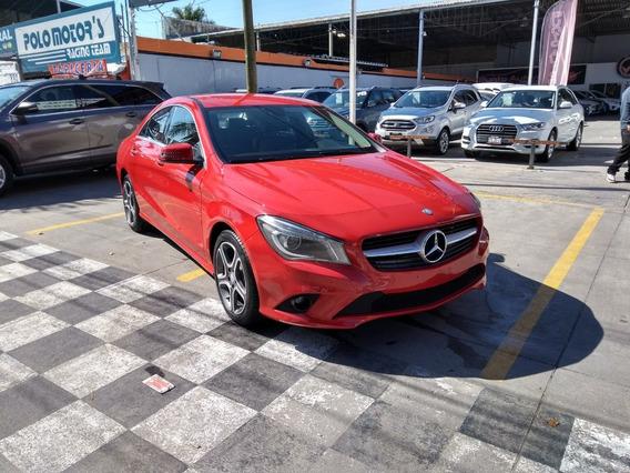 Mercedes-benz Clase Cla 200 Cgi Sport 2015 Rojo