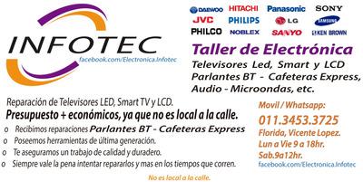 Servicio Tecnico Reparacion Televisores Smart Led Y Lcd