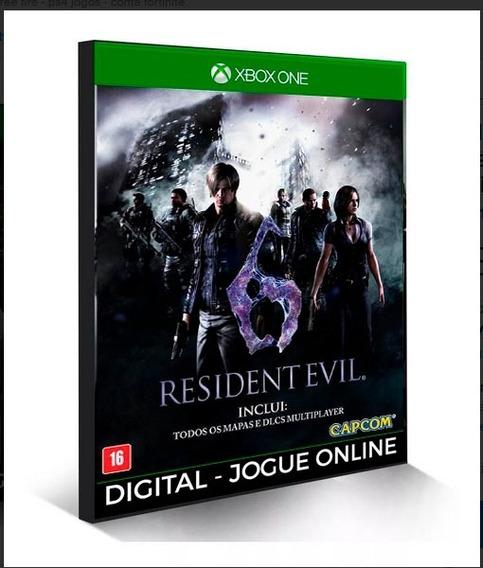 Resident Evil 6 X Box One Digital