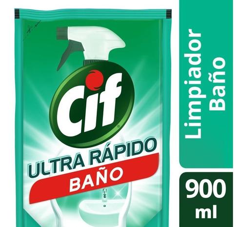 Limpiador Líquido Cif Baño 900ml