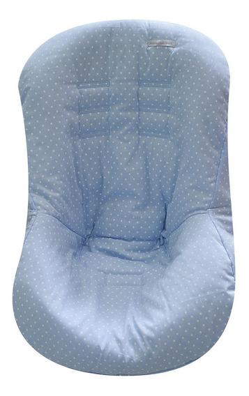 Capa De Bebê Conforto Tecido Estrela Azul - Minha Casa Baby