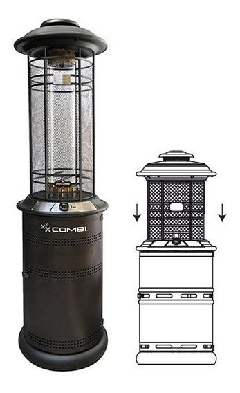 Estufa Exterior Patio Heater M10 Inferno Retráctil