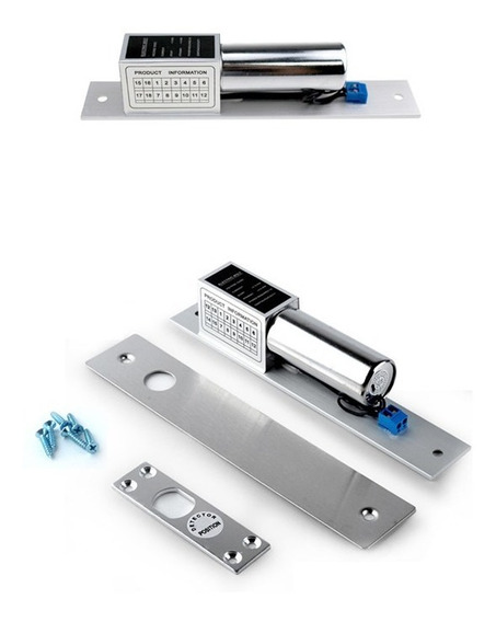 Cerradura Electrónica 12 V Tipo Piton
