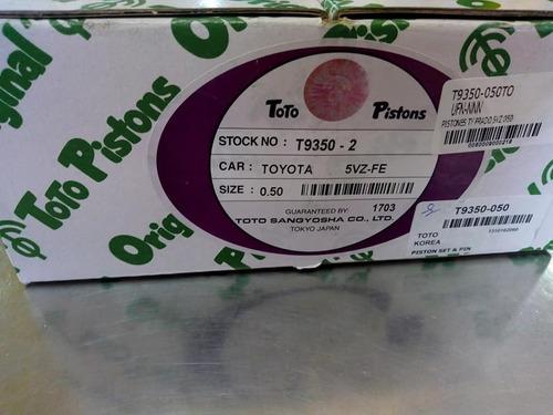 Pistones Toyota 5vz 4runner Prado 3.4 Toto Orig 020.030.040