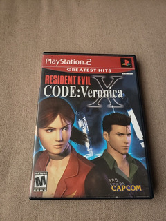 Resident Evil Code Veronica Greatest Hits Ps2 Playstation 2