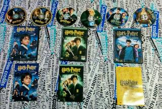 Colección Harry Potter 1 - 6 + Regalo ( 13 Dvds ) - Original