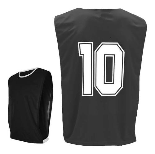 Coletes De Futebol Numerado Kit 10 Pcs Do Núm. 01 Ao 10