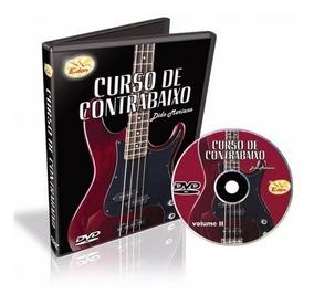 Curso Contra Baixo Volume 2 Em Dvd