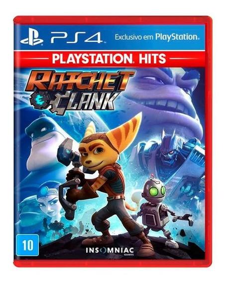 Jogo Ratchet & Clank Ps4 Mídia Física Playstation Hits