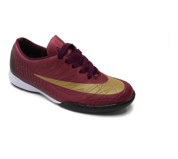 Zapatos Deportivos Niños Bota Guayos Nike Suela Lisa Y Micro