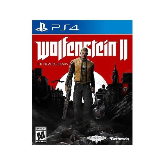 Wolfenstein Ii The New Colossus - Ps4 Lacrado