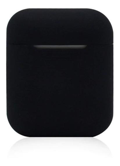 Capa Case + Acessórios Silicone Fones AirPods Apple - 2 Em 1