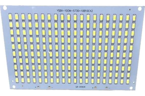 Chip Placa Led Smd Branco Frio 100w Reposição Refletor