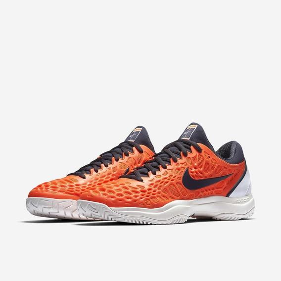 Tênis Nike Air Zoom Cage 3 Hc Rafa Nadal - Laranja