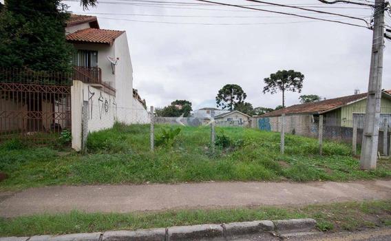 Terreno Comercial Para Locação, Boqueirão, Curitiba - Te0003. - Te0003