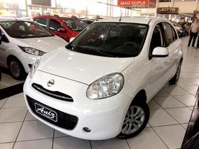 Nissan March 1.0 S Flex Completo 2014