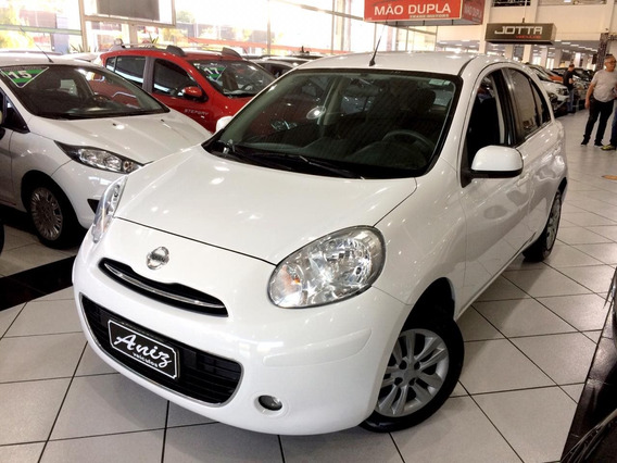 Nissan March 1.0 S Flex Completo 2014