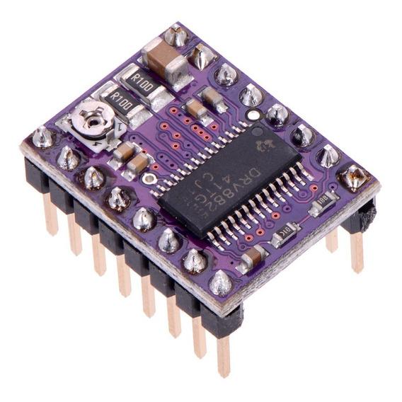 Kit 5x Driver Drv8825 C/ Dissipador De Calor Impressora 3d