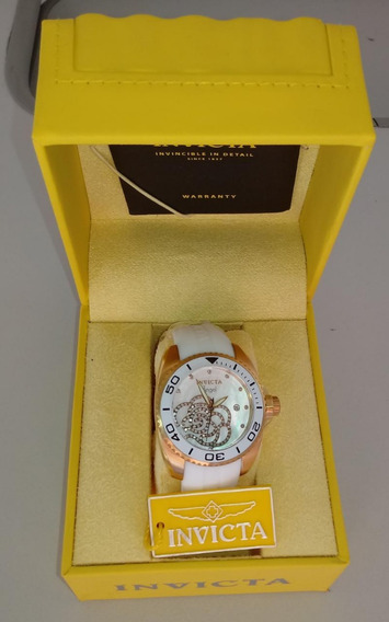 Invicta Feminino Angel 0488 Gold Original