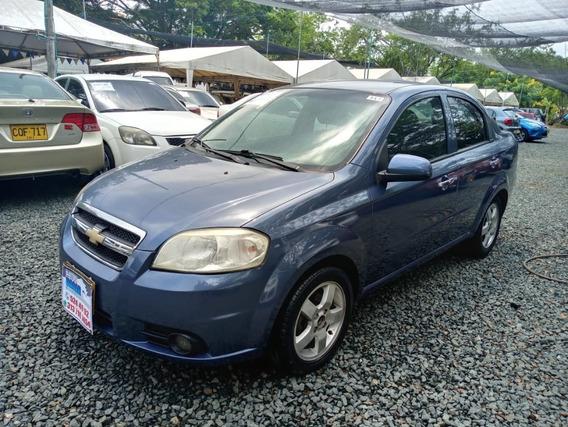 Chevrolet Aveo Emotion Motor 1.6 2009 Azul Corcega 5 Puertas