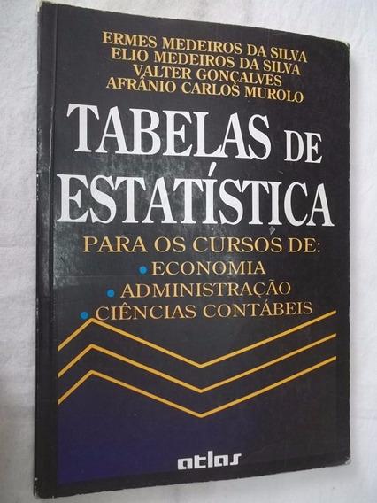 Livro - Tabelas De Estatistica - Matematica