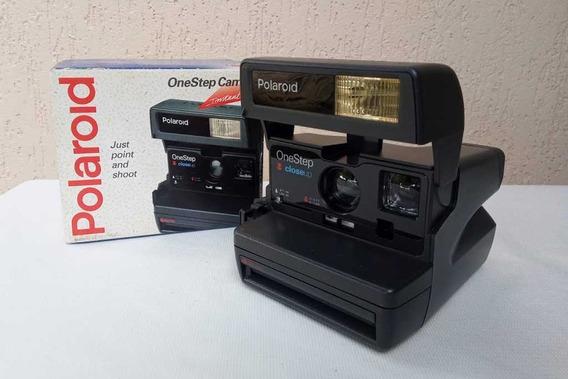 Câmera Polaroid One Step - Antiga E Praticamente Sem Uso