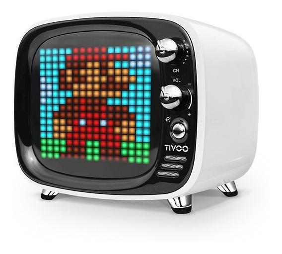 Som Tivoo Retro Bluetooth Pixel Art - Divoom