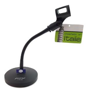 Stand Base Soporte Mesa P/microfono Acero C/clip Tri-2004