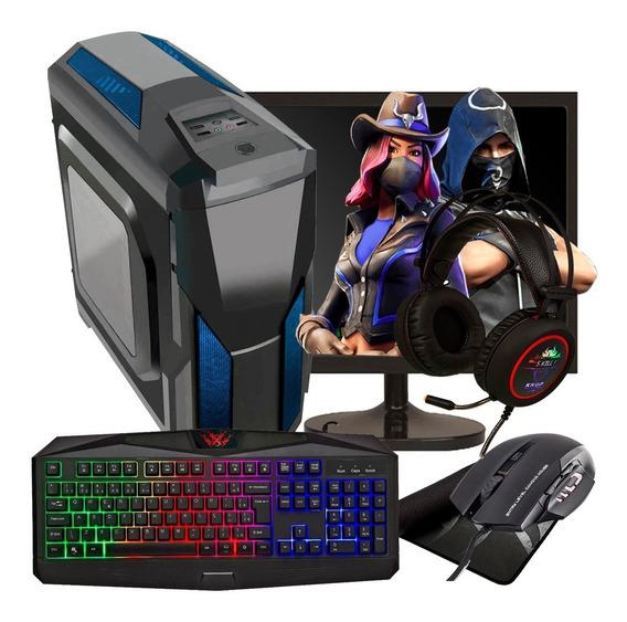 Pc Gamer Completo Barato 8gb / 500gb / Geforce 2gb + Jogos