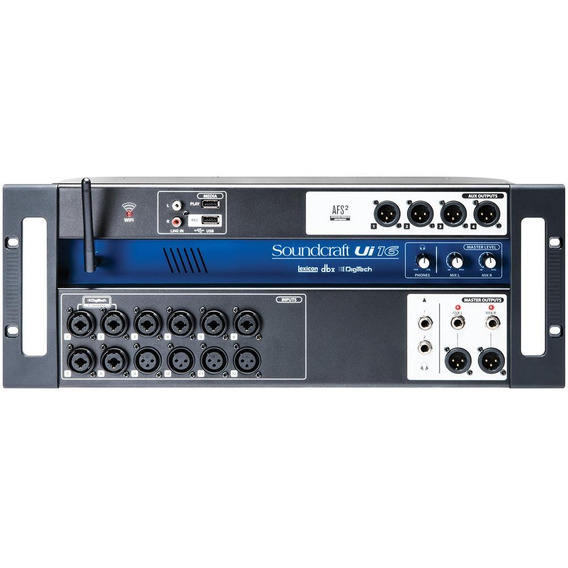 Mesa De Som Digital Soundcraft Ui16 Original 1 Ano Garantia