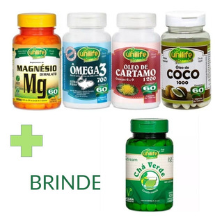 Quarteto Unilife Dr Lair Ribeiro + Brinde Chá Verde