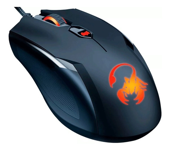 Mouse Gamer Optico Genius Ammox X1-400 3200dpi Usb