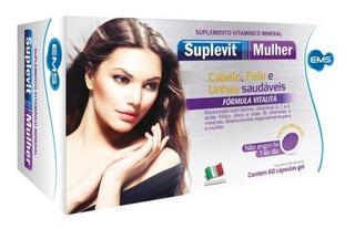 Polivitamínico Suplevit Mulher Com 60 Capsulas