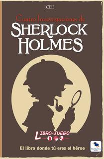 Libro Juego 04 - Sherlock Holmes 4 Investigaciones / C Envio
