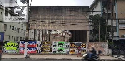 Terreno Na Principal Avenida De São Vicente Para Locação, Built To Suit - Te0084