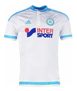 Camisa adidas Olympique De Marseille Home 2016