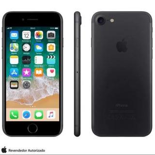 iPhone 7 Preto Matte Tela 4.7 4g 32gb 12mp