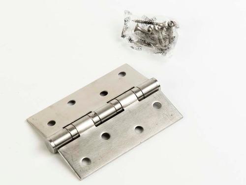 Bisagra Municion 125 X 75 Acero Inoxidable Puerta Ref 3 Mm