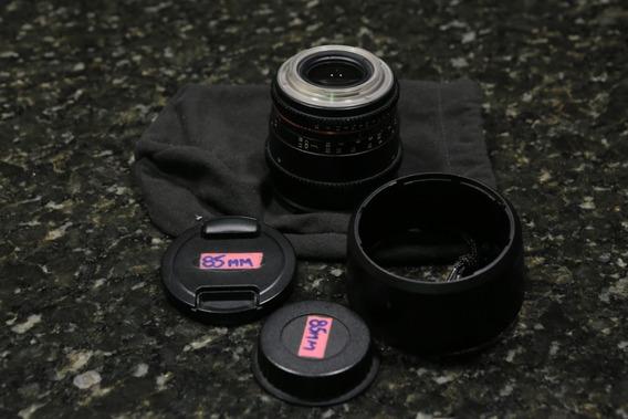 Rokinon 85mm T1.5 Cine Ds (mount Canon Ef)