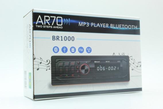 Radio Automotivo Bluetooth Mp3 Volkswagen Ar70 Sd Usb Aux