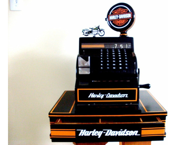 Caixa Registradora Antiga Harley Davidson Varios Modelos