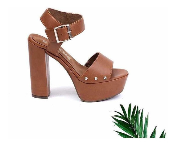 Zapatos Mujer Plataforma Taco Stiletto Fiesta Moda Dama Art.18