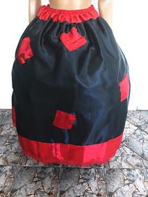 Saia Pomba Gira 4 Mt,farrapo,mulambo,preta/ Vermelha,.